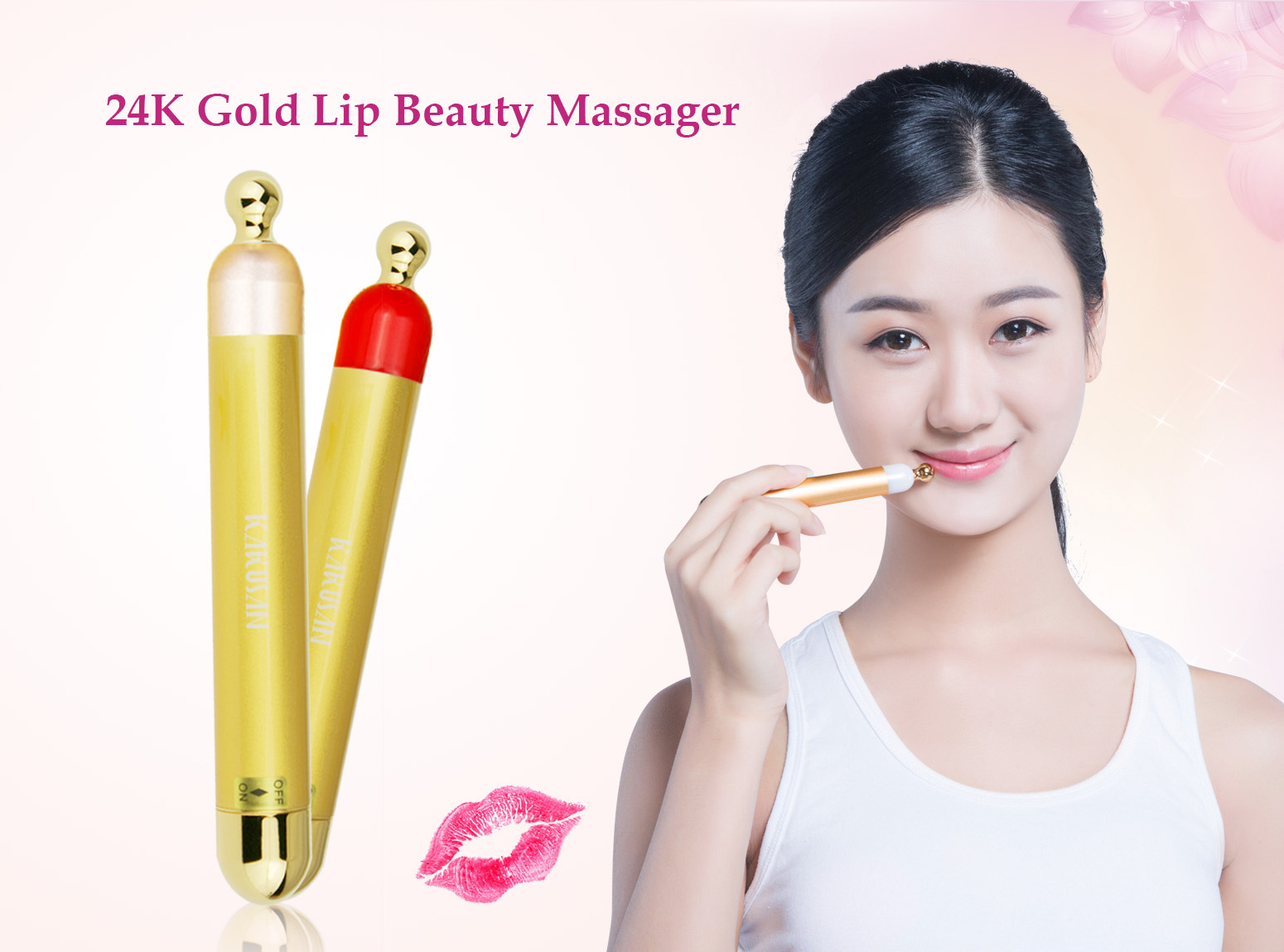 KAKUSAN 24K Gold -Electric  Eye Care Beauty Bar KD-117