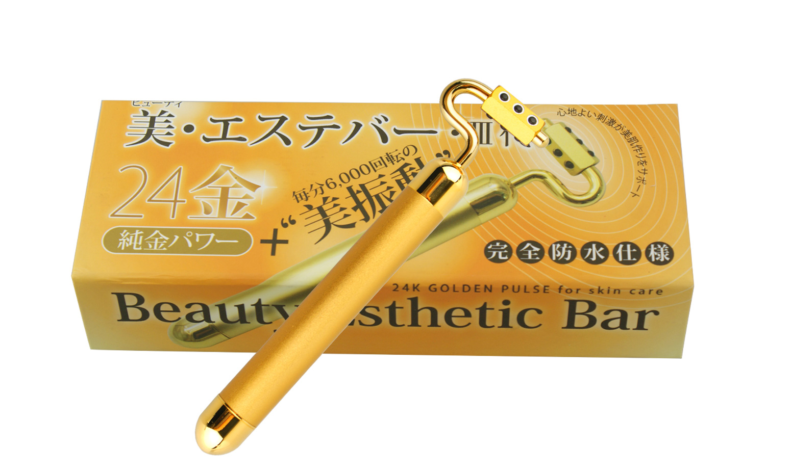 KAKUSAN Electric gold beauty bar with Germanium Updated version K8-177