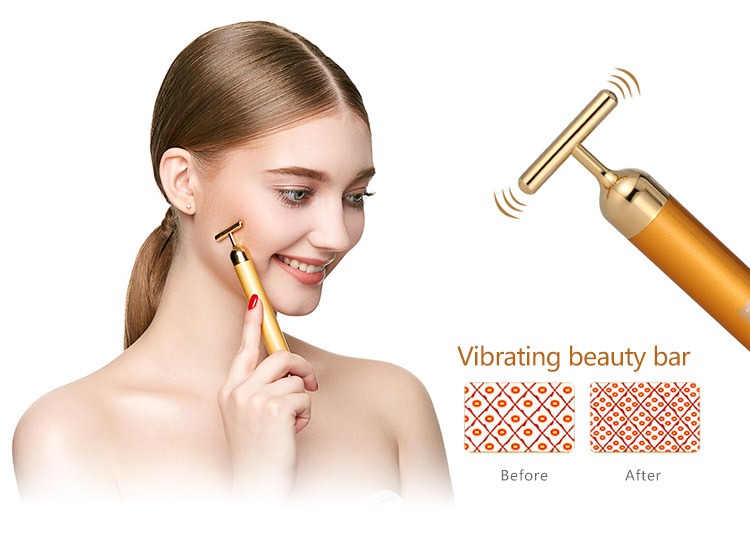 KAKUSAN Electric gold beauty bar 24K KB-138